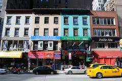 Commerci del Local di New York City Immagini Stock Libere da Diritti