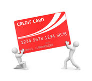Commercial activity. Finance concept. Separated on white Stock Image
