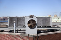 Commercial air conditioner Stock Photography