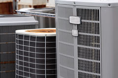 Commercial Air Conditioners stock photography