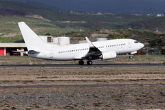 Commercial aircraft on takeoff Royalty Free Stock Photography
