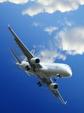 Commercial aircraft taking off Stock Photography