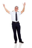 Commercial airline pilot Royalty Free Stock Photos