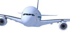 Commercial airliner Royalty Free Stock Image