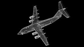 Commercial Airliner Stock Image