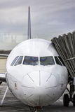 Commercial airplane stock photos