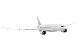 Commercial Airplane Royalty Free Stock Image
