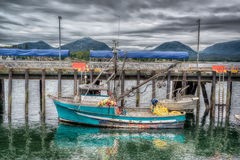 Commercial AlaskanTrawler Royalty Free Stock Photos