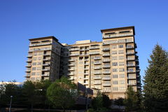 Commercial Apartment Building Stock Image