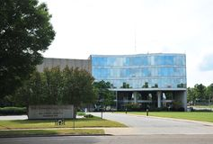 The Commercial Appeal Building, Memphis Tennessee. Stock Photo