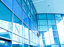 Commercial architectural frameworkk texture Royalty Free Stock Photography