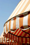 Commercial Awnings Stock Photo