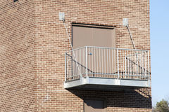 Commercial Balcony Outdoors Stock Photo