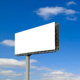 Commercial blank billboard Stock Photo