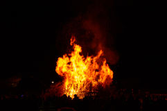 Commercial Bonfire display Royalty Free Stock Photos