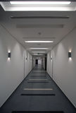 Commercial building corridor royalty free stock image