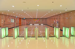 Commercial building lobby Royalty Free Stock Image
