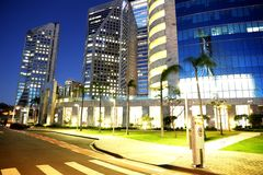 Commercial building in sao paulo Brazil Stock Image