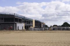 Commercial Building Site Stock Images