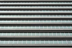 Commercial building windows Stock Photography