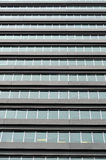 Commercial building windows Stock Image