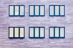 Commercial building windows architecture pattern Stock Photos