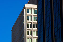 Commercial buildings Royalty Free Stock Photography