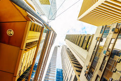Commercial buildings and residential buildings in Hong Kong Stock Images
