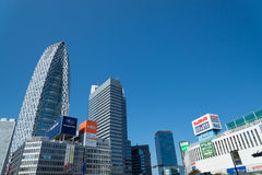 Commercial Buildings in Shinjuku Stock Images