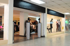 Commercial center. Retail stores in a commercial center Stock Image