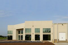 Commercial Center. A new commercial property for lease stock images