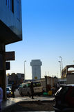 Commercial center of Jeddah royalty free stock photo