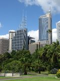 The commercial center of Sydney Royalty Free Stock Image
