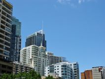 The commercial center of Sydney Stock Photography