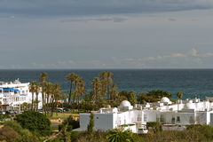 Commercial Centre Mojacar Royalty Free Stock Image