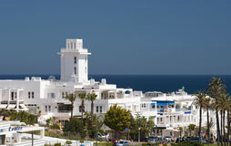 Commercial Centre Mojacar Spain Stock Image