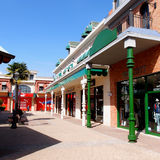 Commercial centre Stock Image