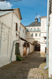 Commercial Compound in Sergiyev Posad in Russia Royalty Free Stock Photography
