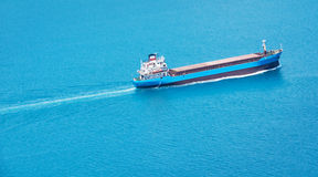 Commercial container ship Royalty Free Stock Photography