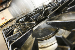 Commercial Cooker Stock Photo