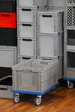 Commercial crate box Stock Image