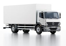 Commercial Delivery / Cargo Truck Royalty Free Stock Photo