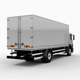 Commercial Delivery / Cargo Truck Royalty Free Stock Image
