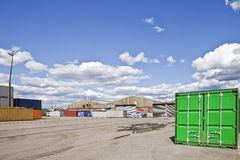 Commercial Dock Royalty Free Stock Photo