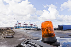 Commercial Dock Royalty Free Stock Image