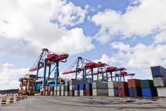 Commercial Dock Stock Image