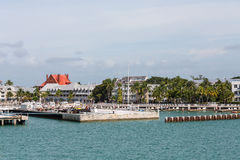 Commercial Dock in Key West Stock Image