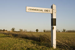 Commercial End Stock Image
