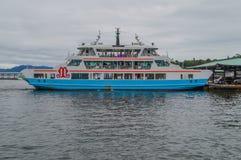 Commercial Ferry To Miyajima Island Japan.  stock image