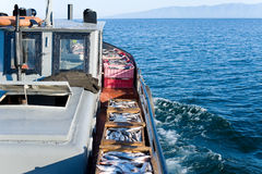 Commercial fishery Stock Image